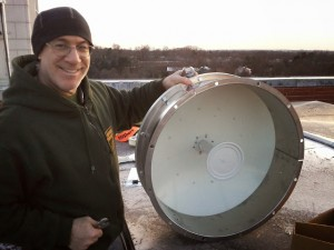 5 GHz  Dish with RF Armor