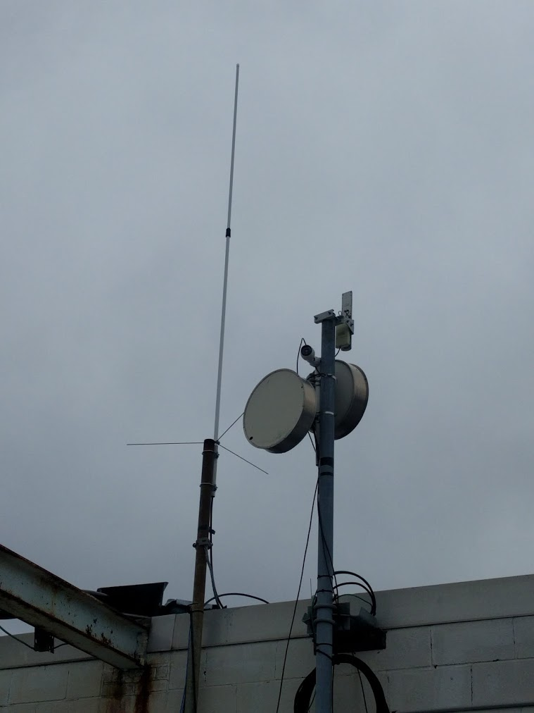 New triband antenna at our northern RX site